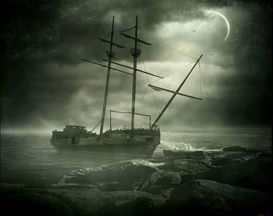 揭秘南大西洋中恐怖幽灵船的秘密